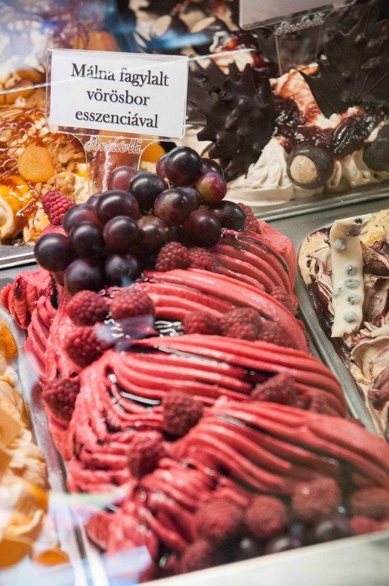 A 2013-as Év Fagylaltja: Málna fagylalt vörösbor esszenciával
