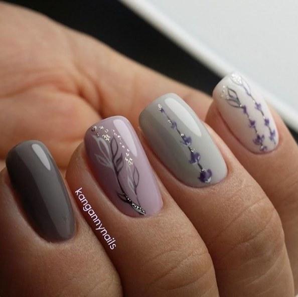 Elegant Fall Autumn Toe Nail Art Designs Ideas Trends: 35 Tavaszias Körömminta, Az Elegáns és Vonzó Megjelenés